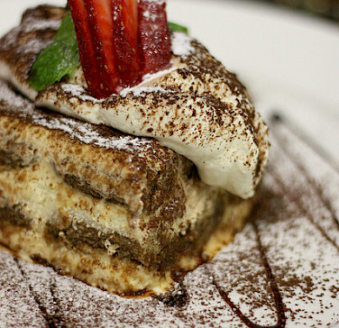 Tiramisu originates from Treviso, Italy. Photo via Flickr:boo_licious