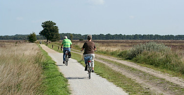 Quiet bike paths throughout Holland. Photo courtesy of Netherlands Board of Tourism