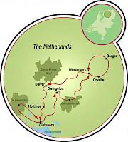Drenthe - Holland's Venice Map
