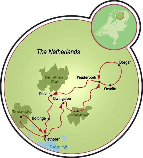 Hollands Venice Drenthe Bike Tour Netherlands Tripsite