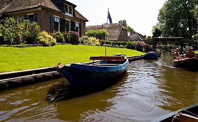 Giethoorn, Overijssel, the Netherlands. Photo via Flickr:piotr ilowiecki