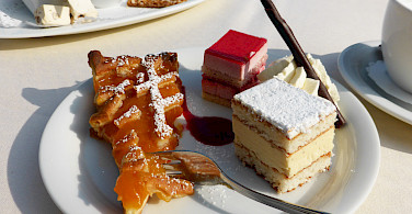 Tasty Dutch desserts to fuel the bike ride. Photo via Flickr:Kitty Terwolbeck