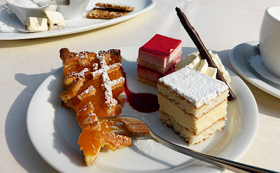 Tasty Dutch desserts to fuel the bike ride. Photo via Flickr:Kitty Terwolbeck