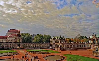 Gorgeous Zwinger Palace in Dresden, Germany. Flickr:Bert Kaufmann