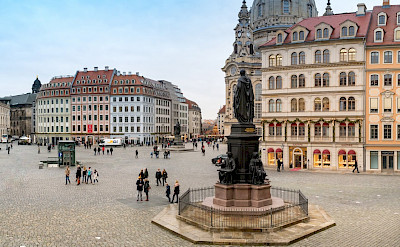 Frauenkirche in Dresden, Germany. Flickr:Falco Ermert