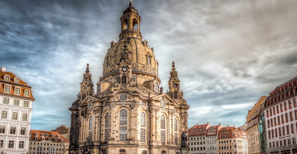 Frauenkirche in Dresden, Germany. Flickr:magnetismus