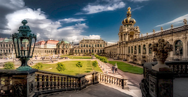 Zwinger Palace is a wonder in Dresden, Germany. Flickr:Bernd Thaller