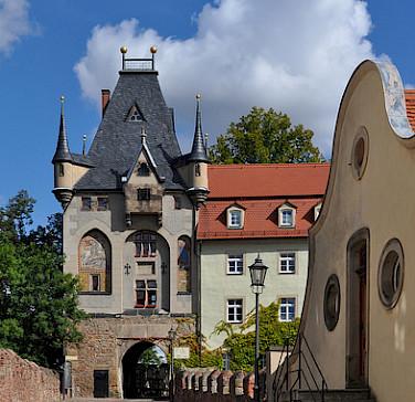 Bike rest at Albrechtsburg Castle in Meissen, Germany. Flickr:Harshil Shah