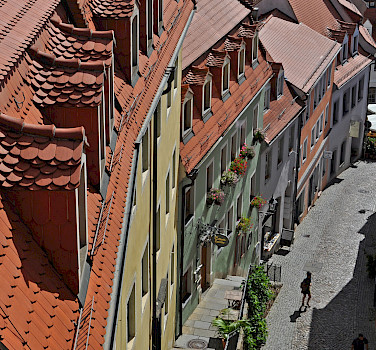 View from Albrechtsberg Castle in Meissen, Germany. Photo via Flickr:Harshil Shah
