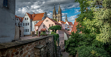 Bike rest in Meissen, Germany. Photo via Flickr:Bernd Thaller