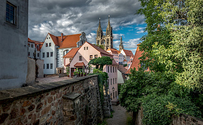 Bike rest in Meissen, Germany. Flickr:Bernd Thaller