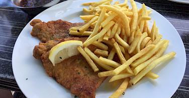 Germany has great Schnitzel. Flickr:Milo-photo