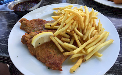 Germany has great Schnitzel. Flickr:Milo-photo