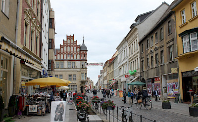 Shopping in Wittenberg, Germany perhaps. Flickr:brent