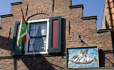 Edam is famous for its cheese. The Netherlands. Photo via Flickr:Allessandro Scarcella