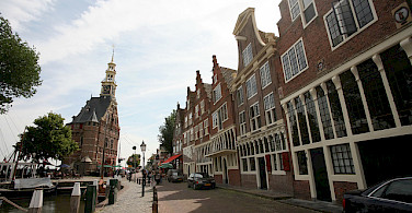 Bike tour through Hoorn, the Netherlands. Photo via Flickr:bert knottenbeld