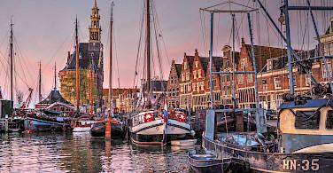 Harbor in Hoorn, North Holland, the Netherlands. Photo via Flickr:b k
