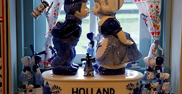 Souvenires for sale at the Zaanse Schanse, Zaandam, the Netherlands. Photo via Flickr:Mario Sanchez Prada