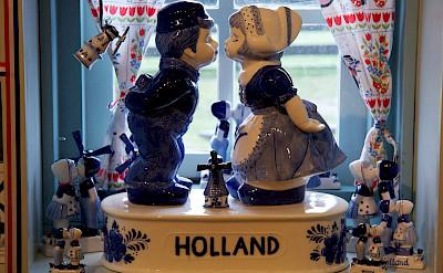Souvenires for sale at the Zaanse Schanse, Zaandam, the Netherlands. Photo via Flickr:Mario Sanchez Prada