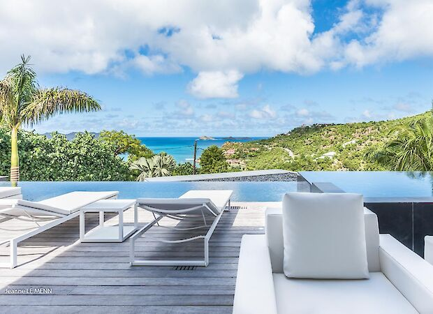 Vacation Rental St Barthelemy WV GPA Villa St Barts Villa GPAdek Desktop