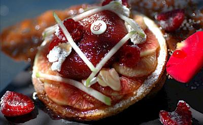 Gastronomia Charial dessert in Les Baux de Provence, France. Flickr:vinhosdeprovence