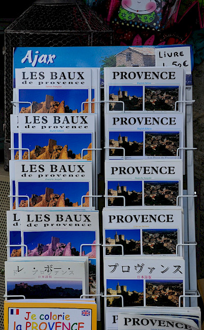 Postcards in Les Baux de Provence, France. Flickr:Ming-Yen Hsu