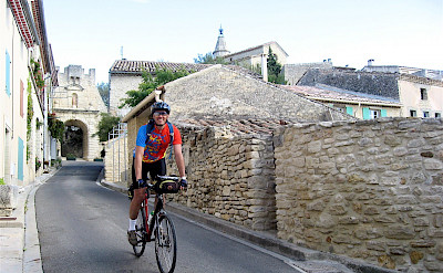 Biking in the Provence, France. Flickr:Steve Jurvetson