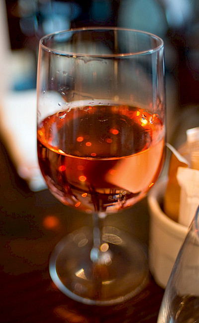 The Provence region is known for its rose wine.