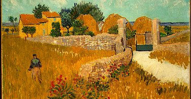 Farmhouse in Provence by Vincent van Gogh 1888