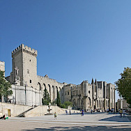 Palais des Papes in Avignon, France. Creative Commons:Jean-Marc Rosier