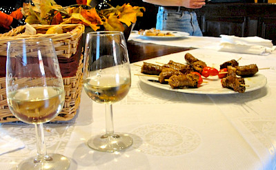 Pairing food with wine in Umbria, Italy. Flickr:Umbria Lovers