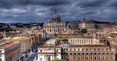 Bike rest in Rome with plenty to explore. Photo via Flickr:Mark Freeth