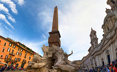 Piazza Navona in Rome, Italy. Flickr:Zach Dischner