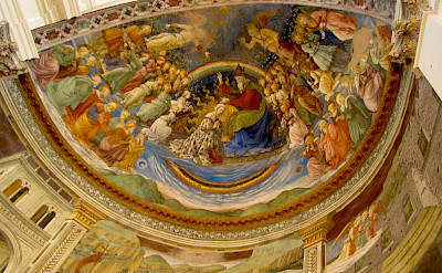 Beautiful frescos in Spoleto, Umbria, Italy. Flickr:Christopher JohnSSF
