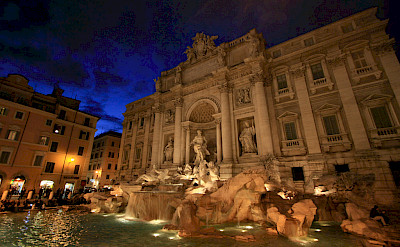 Trevi Fountain in Rome is an Italian marvel. Flickr:Evan Blaser
