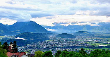 Overlooking Feldkirch, Switzerland. Photo via Flickr:Denis Mau