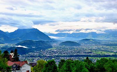 Overlooking Feldkirch, Switzerland. Photo via Flickr:Denis Mau