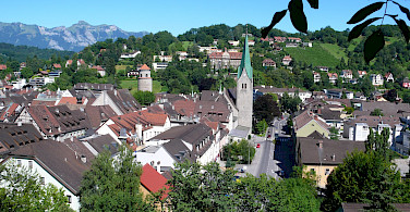 Bike tour through Feldkirch, Vorarlberg, Austria. Photo via Wikimedia Commons:Welleschik
