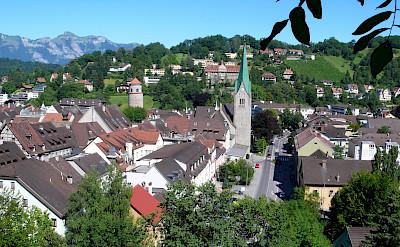 Bike tour through Feldkirch, Vorarlberg, Austria. Photo via Wikimedia Commons:Welleschik