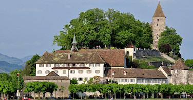 Capuchin Monastery in Rapperswil, Switzerland. Photo via Wikimedia Commons:Rolandzh