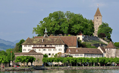 Capuchin Monastery in Rapperswil, Switzerland. Photo via Wikimedia Commons:Rolandzh