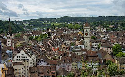 Biking through Schaffhausen, Switzerland. Photo via Wikimedia Commons:chensiyuan