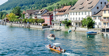 Stein am Rhein on Bodensee in Switzerland. Photo via Flickr:Luca Casartelli