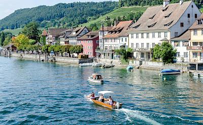 Stein am Rhein on Bodensee in Switzerland. Photo via Flickr:Luca Casartelli