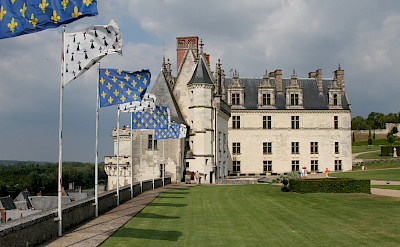 Château d'Amboise along the Loire River in France. Creative Commons:Vadim Kurland