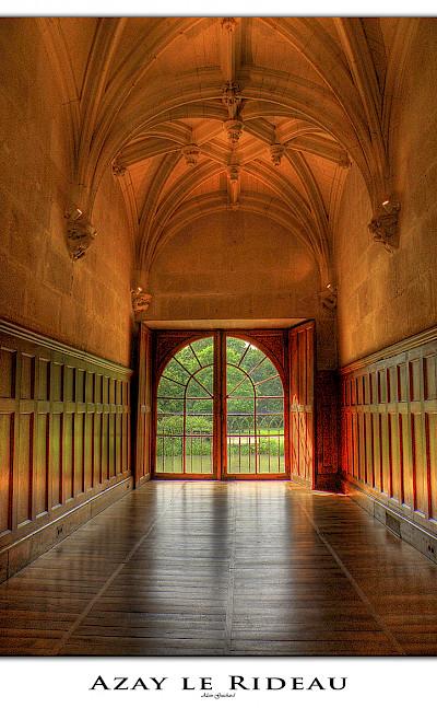 At the Château d'Azay-le-Rideau in France. Flickr:@lain G
