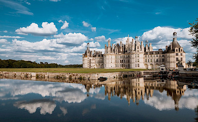Château de Chambord in Chambord, Loir-et-Cher, France. Creative Commons:Arnaud Scherer