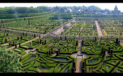 Jardin at Château de Cheverny, Loire Valley, France. Flickr:Vasse nicola,antoine