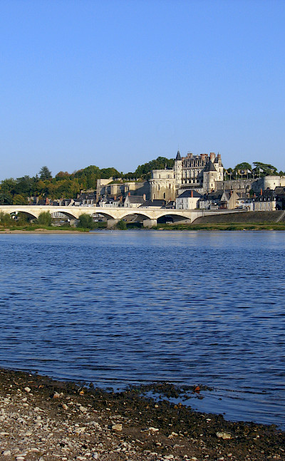 Château d'Amboise along the Loire. Photo courtesy TO