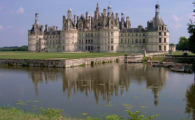 Château de Chambord in Chambord, France. Photo via TO